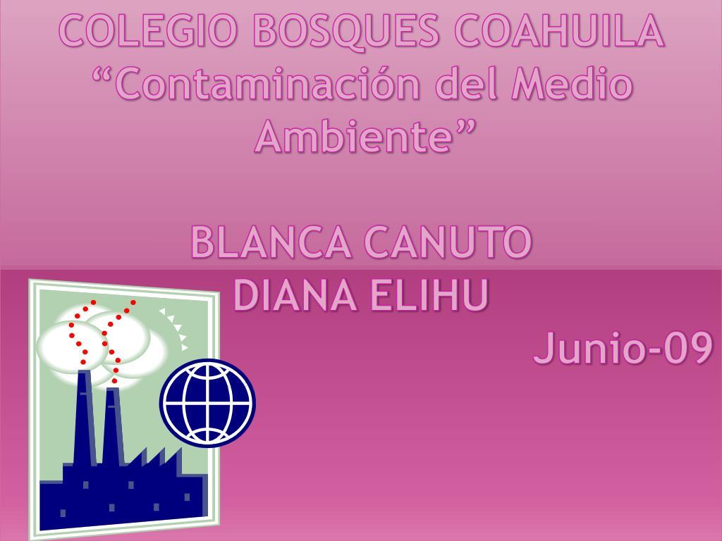 COLEGIO BOSQUES COAHUILA