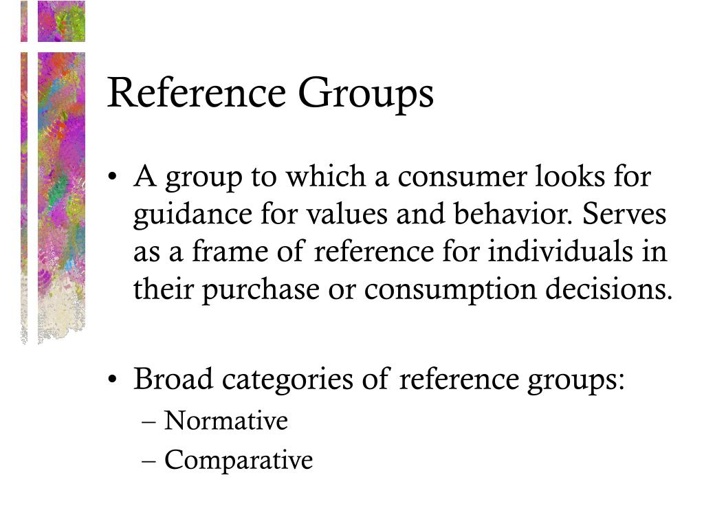 with reference to the decisions of Reference group influence on product and brand purchase decisions created date: 6/23/2001 10:43:02 am.
