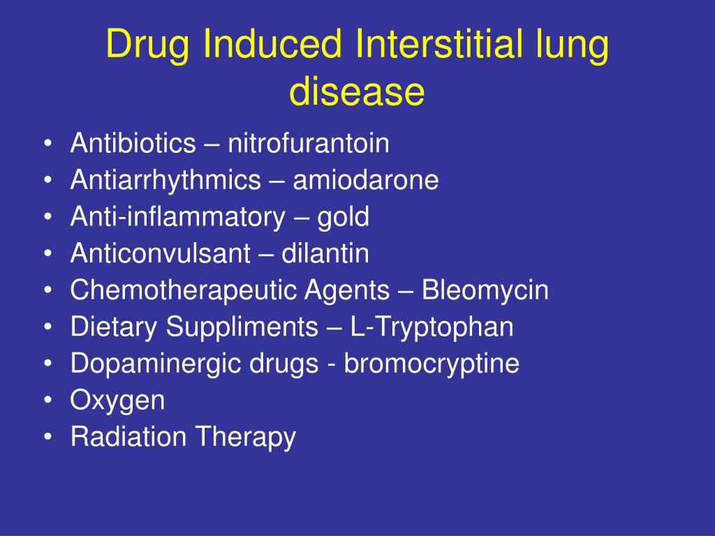 PPT Recent developments in the treatment of interstitial lung  #B2B219