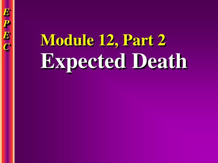 Module 12, Part 2