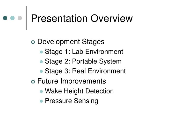 Presentation overview3