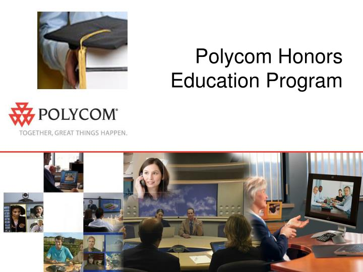 Polycom honors education program l.jpg