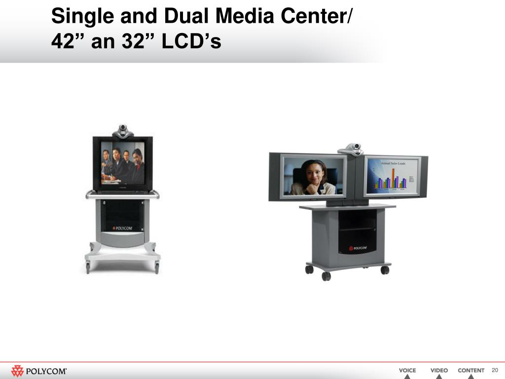 Single and Dual Media Center/
