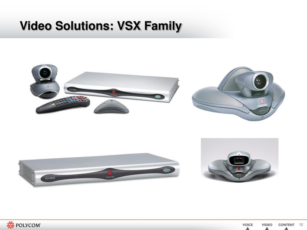 Video Solutions: VSX Family