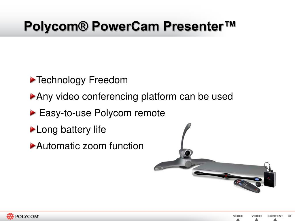 Polycom® PowerCam Presenter™