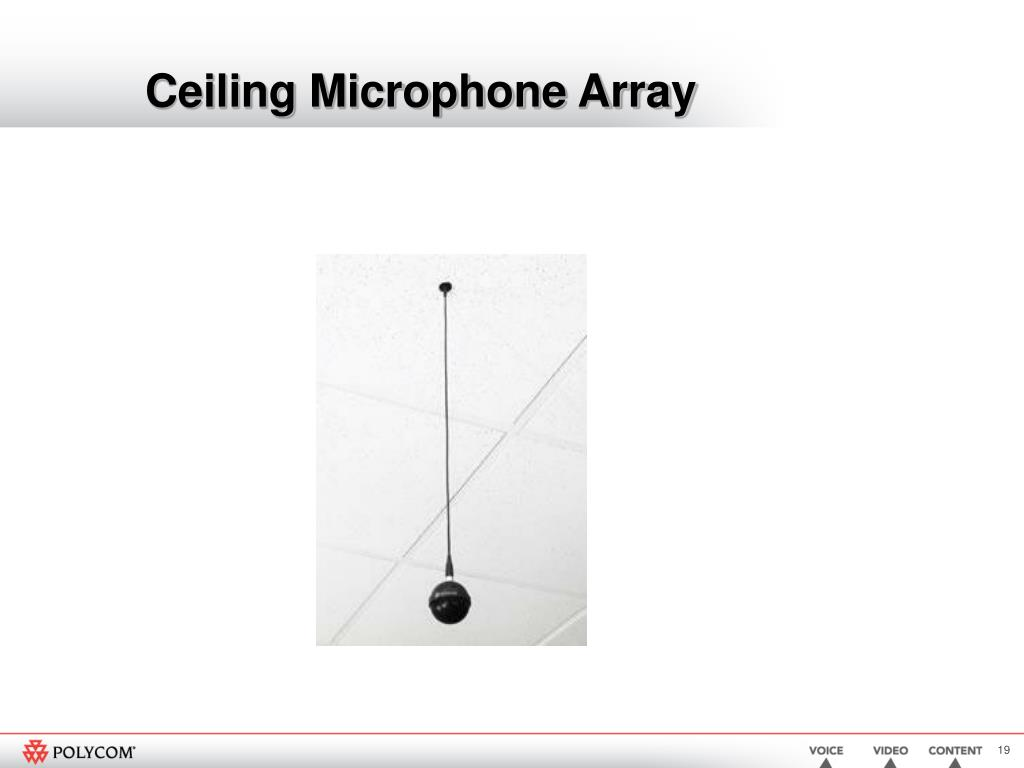 Ceiling Microphone Array