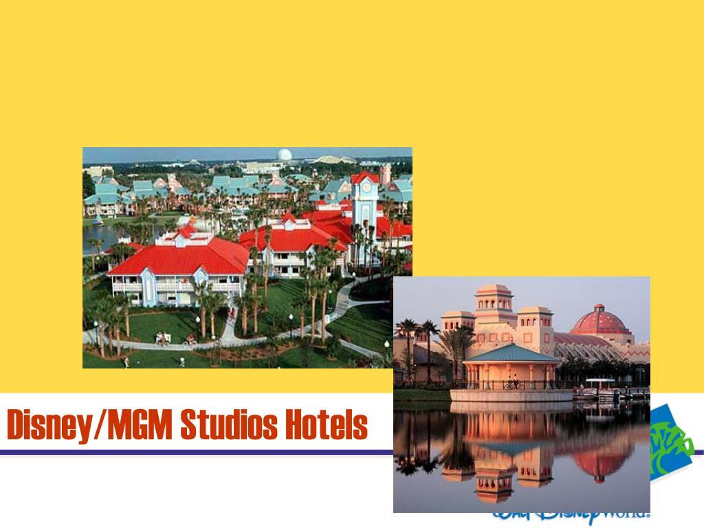 Disney/MGM Studios Hotels