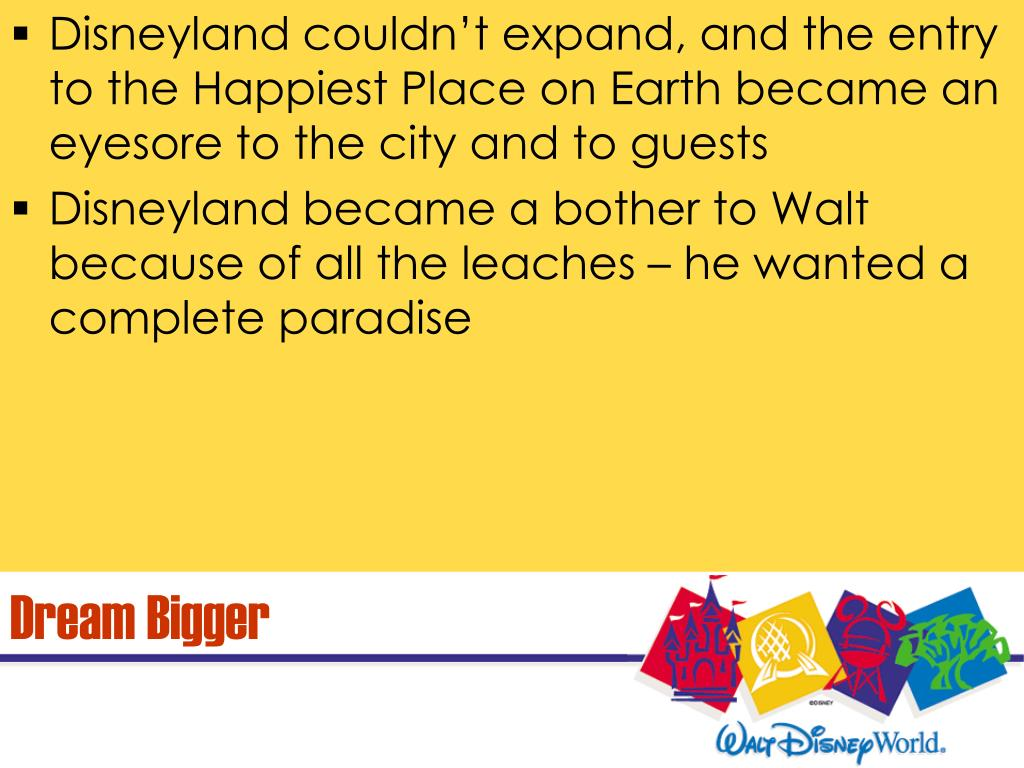 Disneyland couldn't expand, and the entry to the Happiest Place on Earth became an eyesore to the city and to guests
