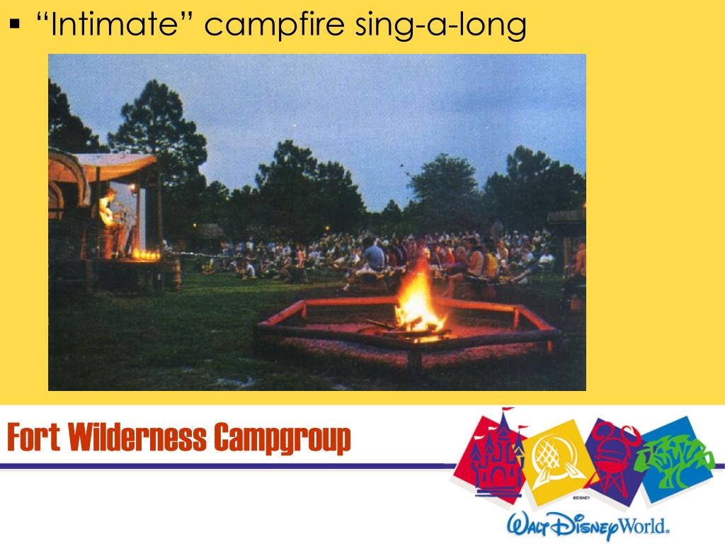 """Intimate"" campfire sing-a-long"