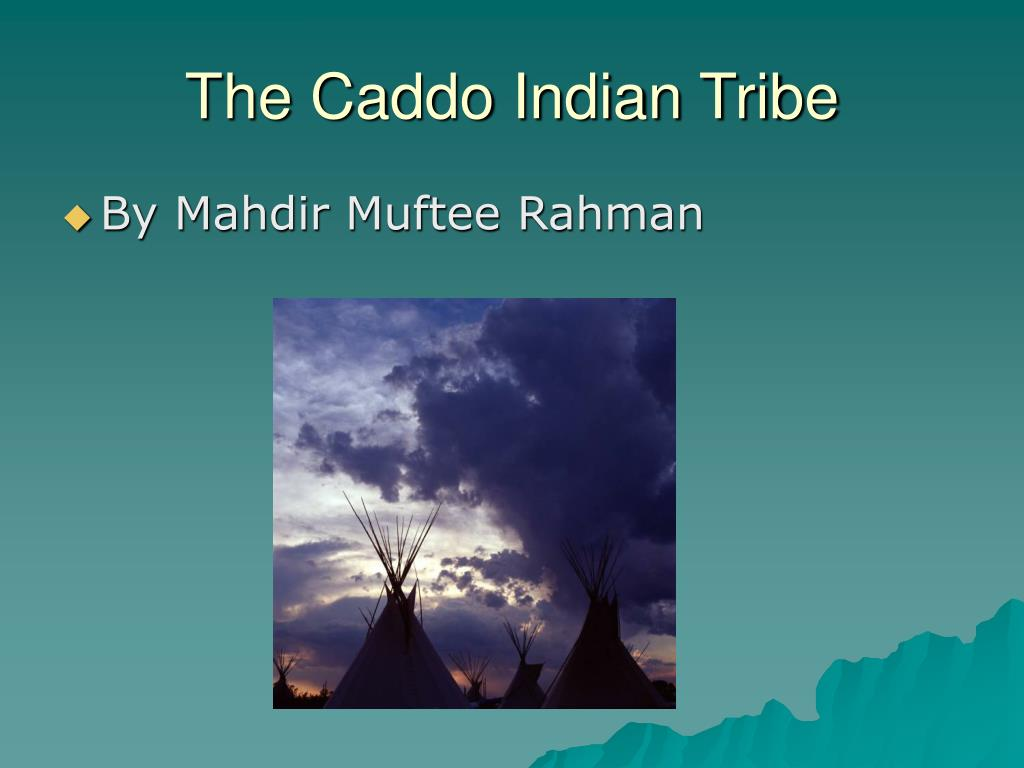 the caddo indian tribe