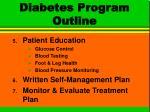 diabetes program outline27
