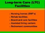 long term care ltc facilities
