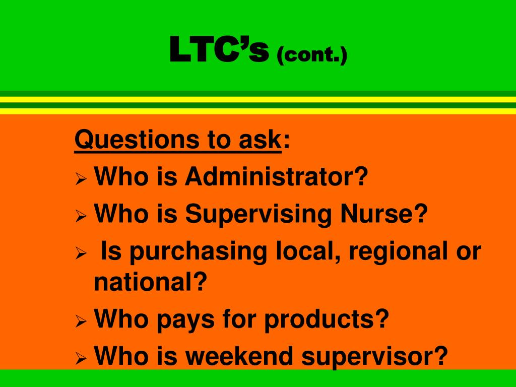 LTC's