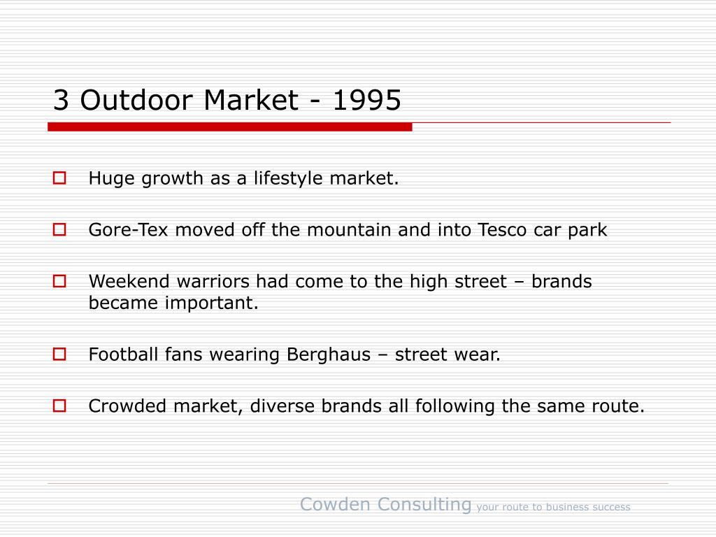 3 Outdoor Market - 1995