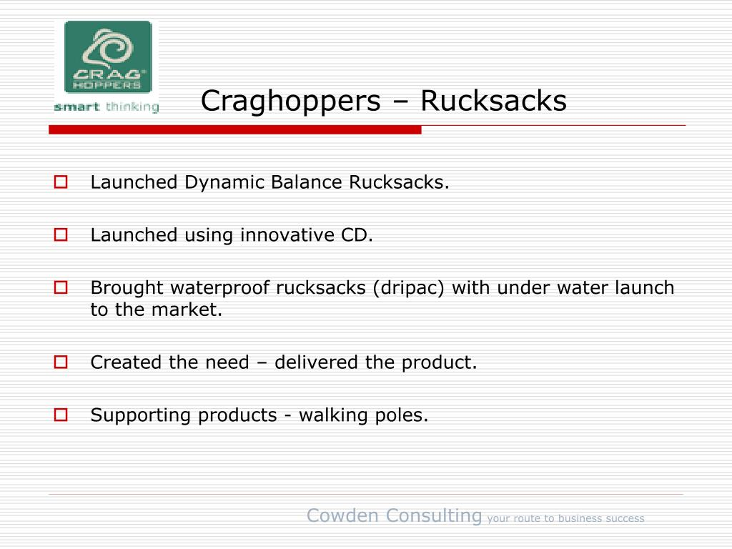 Craghoppers – Rucksacks