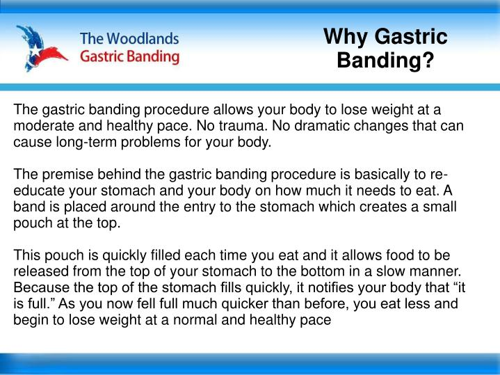 Why Gastric Banding?