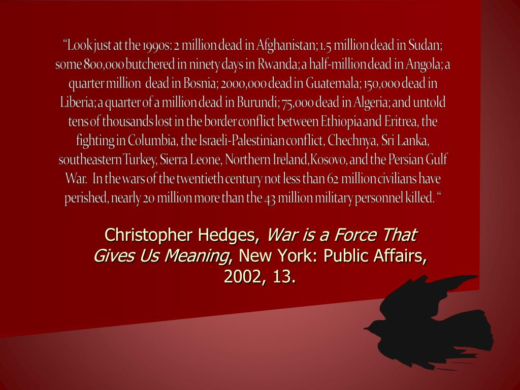 Christopher Hedges,