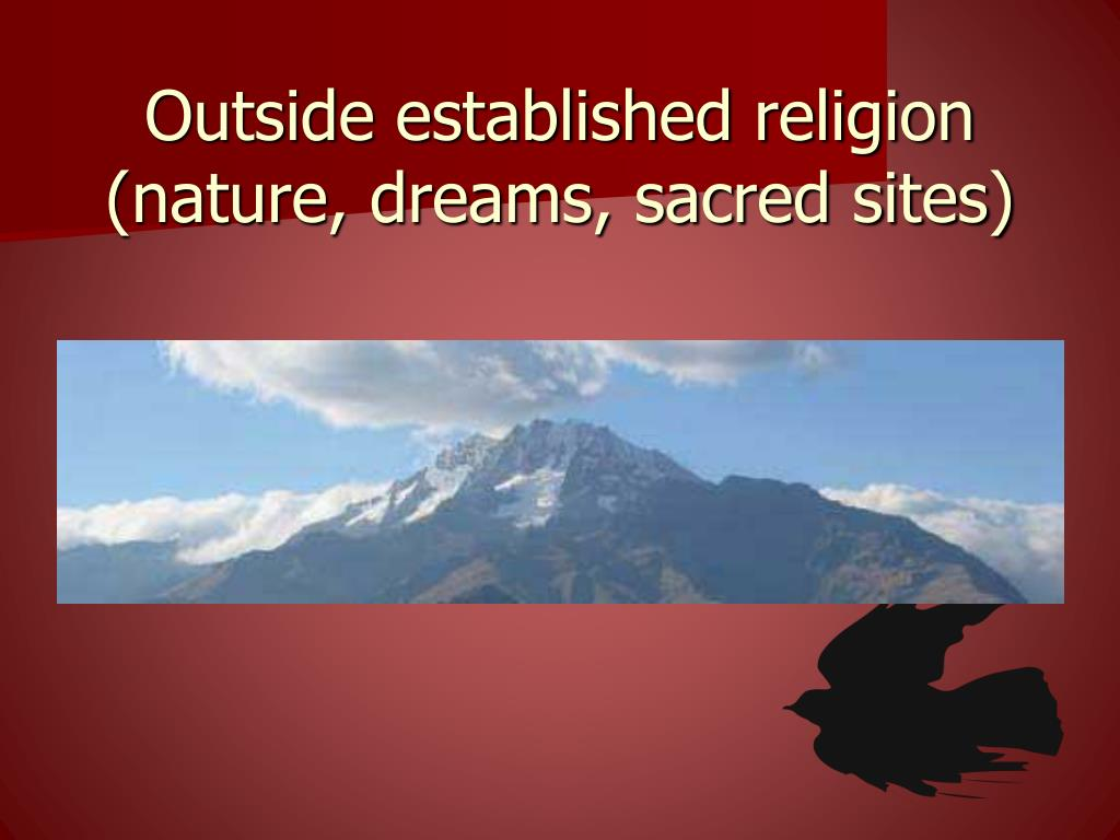 Outside established religion
