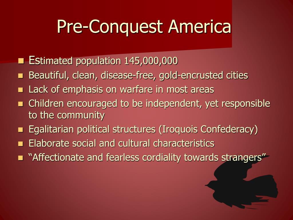 Pre-Conquest America
