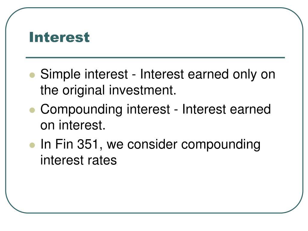 Interest