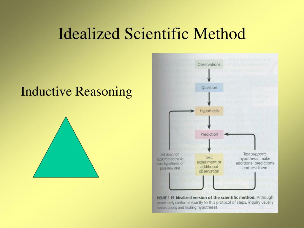 Idealized Scientific Method