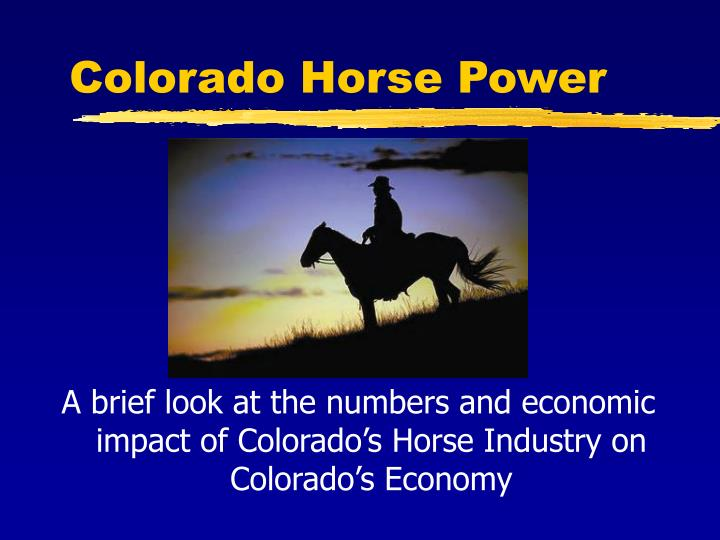 Colorado horse power l.jpg