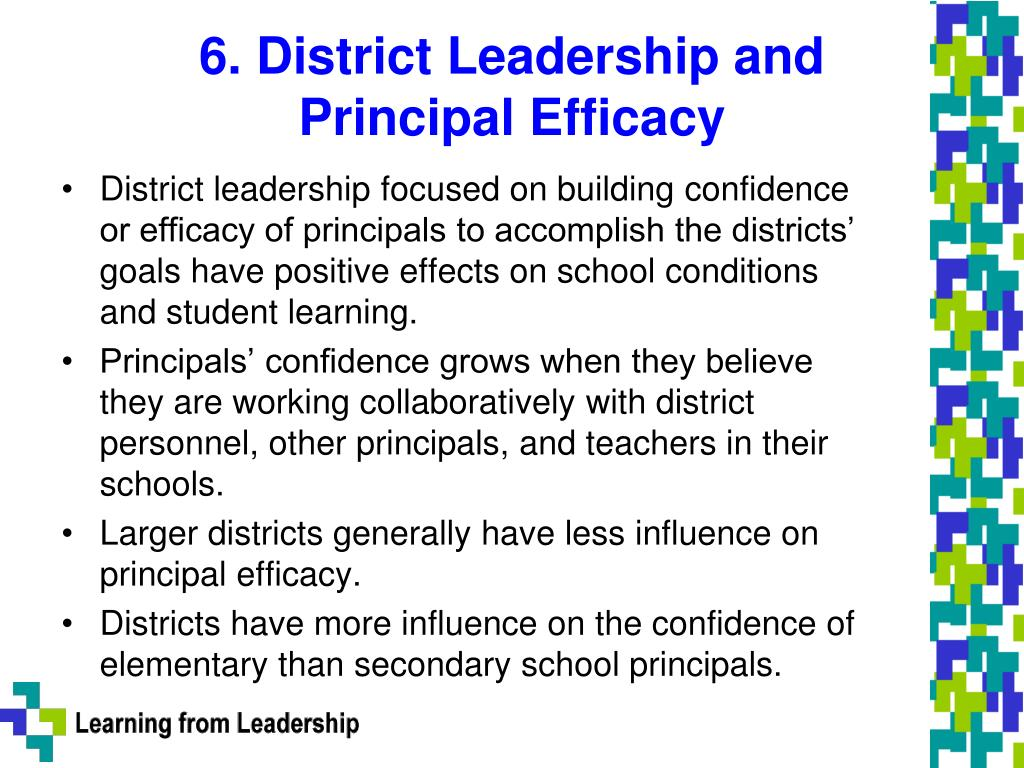 6. District Leadership and