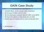 gain case study