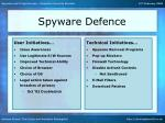 spyware defence