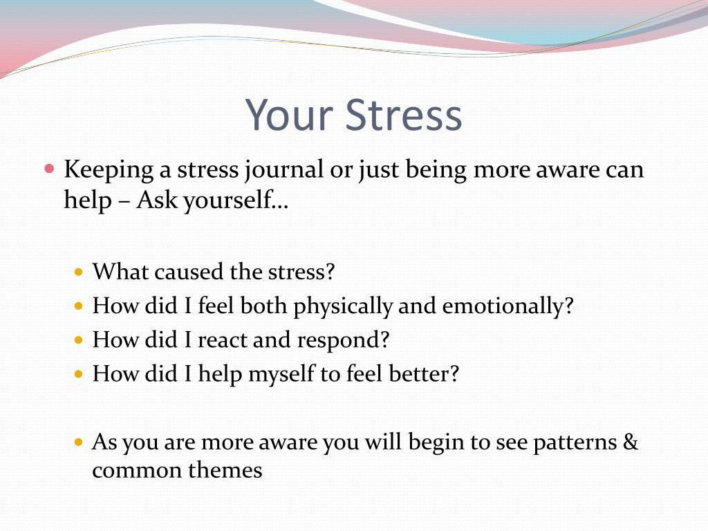 Your Stress