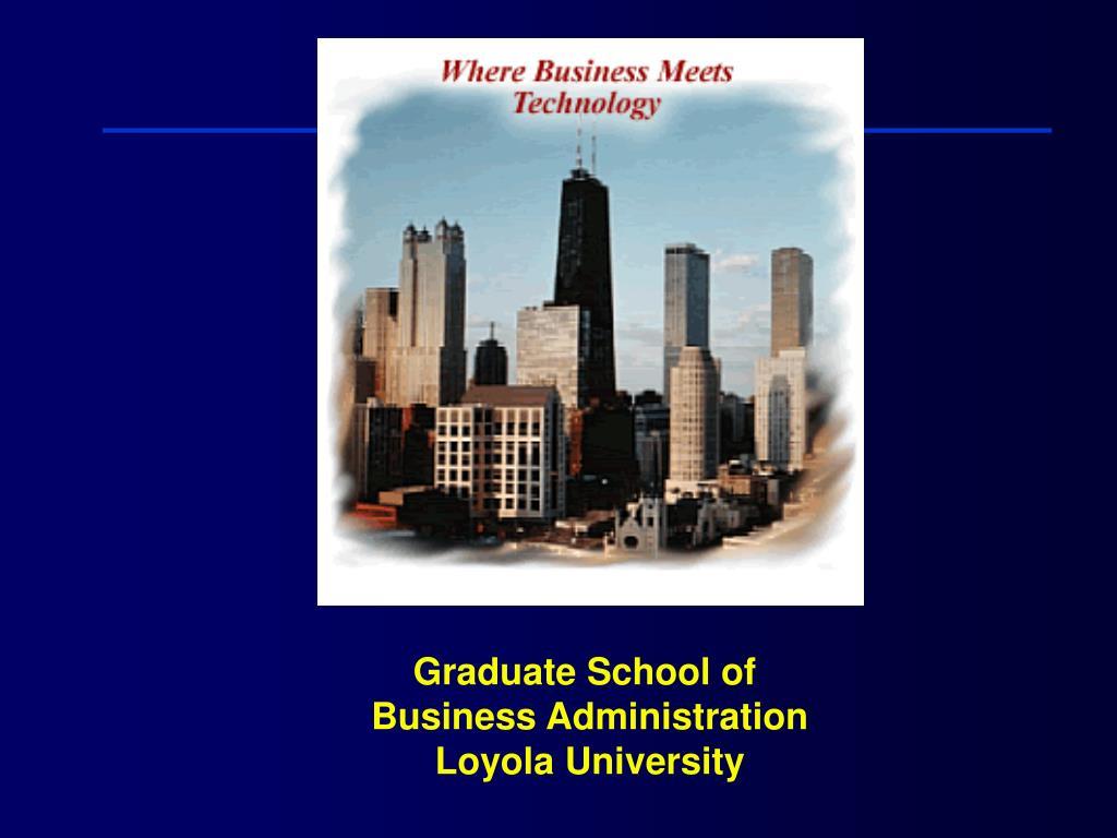 Graduate School of