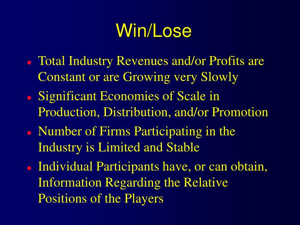 Win/Lose
