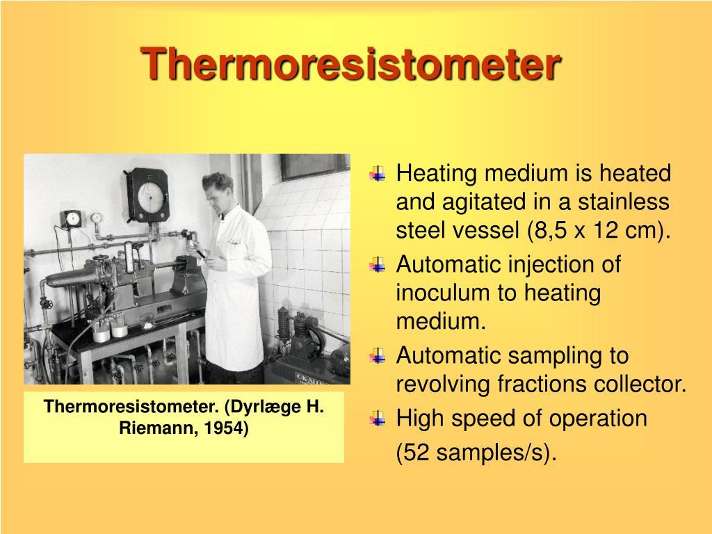 Thermoresistometer