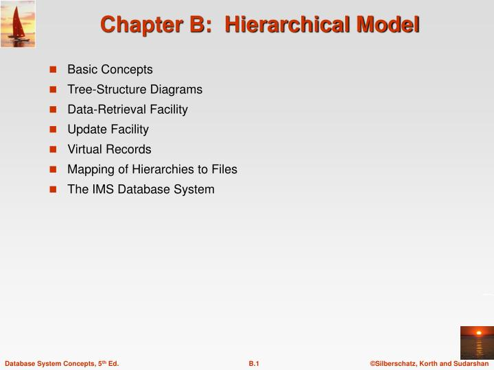 chapter b hierarchical model
