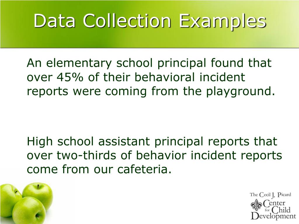 Data Collection Examples
