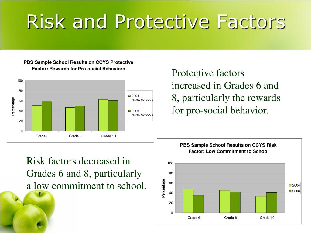 PBS Sample School Results on CCYS Protective