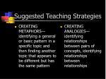 suggested teaching strategies1