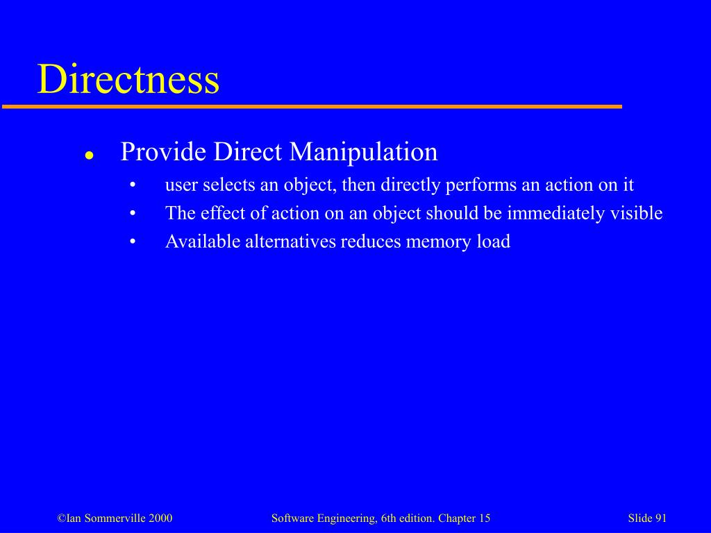 Directness