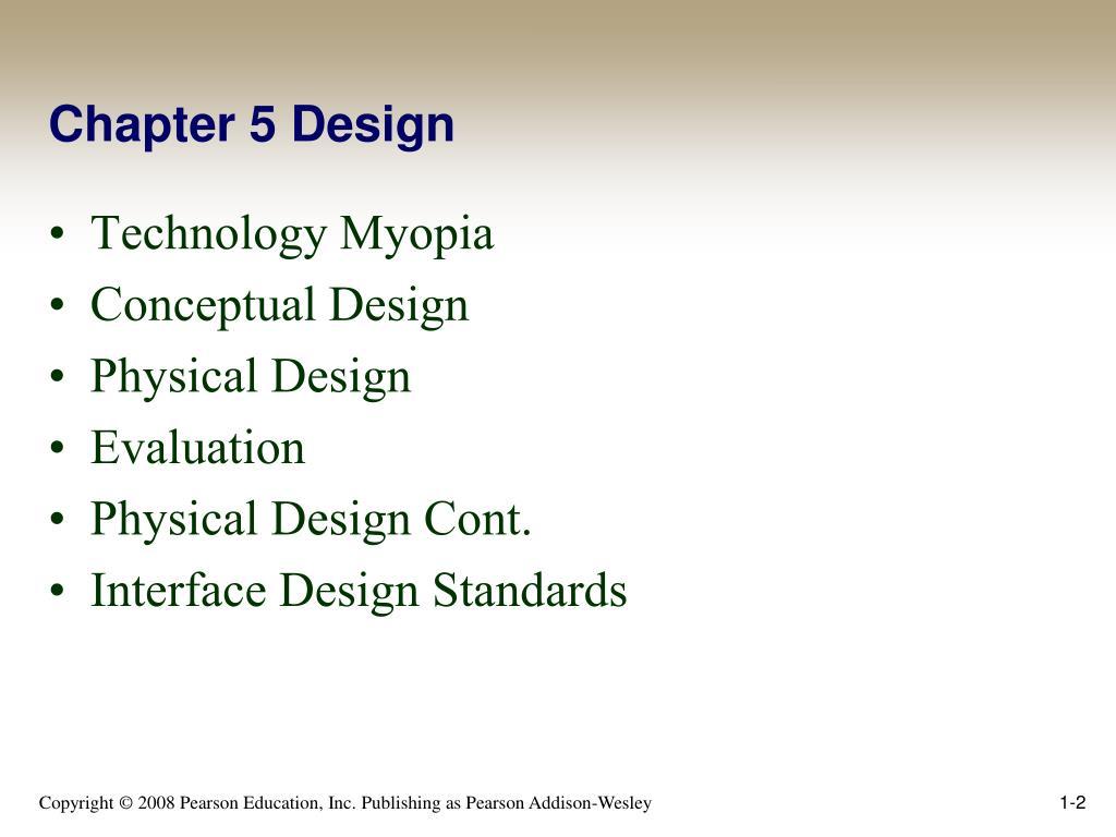 Chapter 5 Design