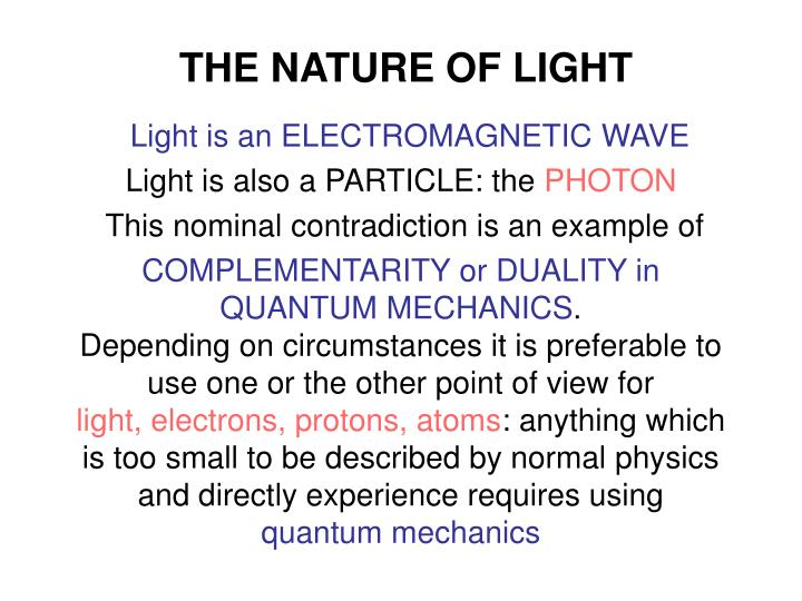 The nature of light l.jpg