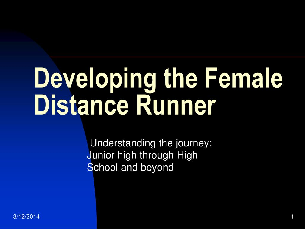 developing the female distance runner