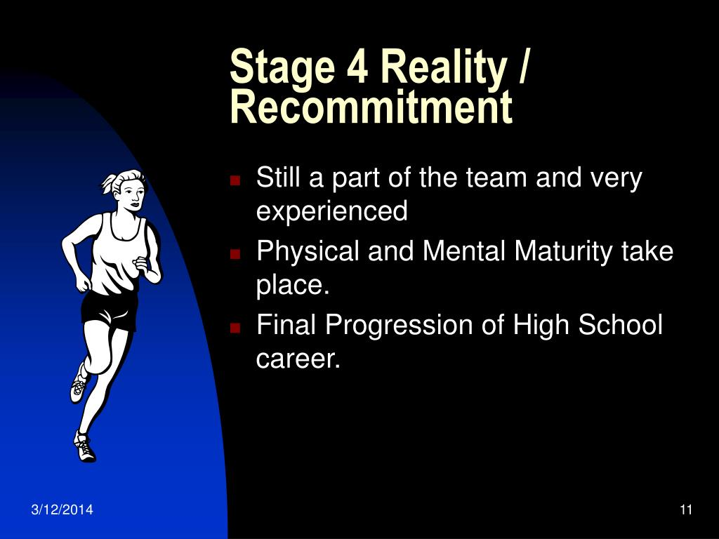 Stage 4 Reality / Recommitment