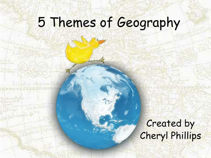 Geography Essays