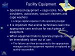 facility equipment