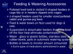 feeding watering accessories