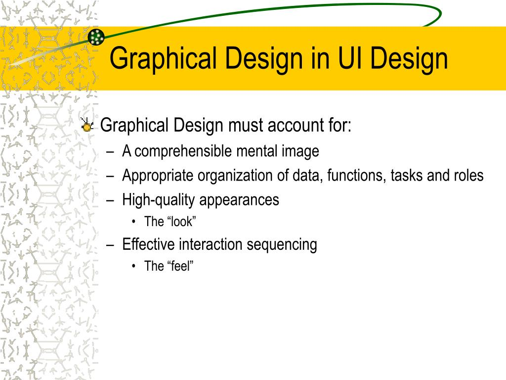 Graphical Design in UI Design