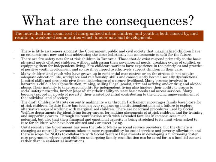 What are the consequences?