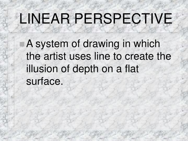 Linear perspective2