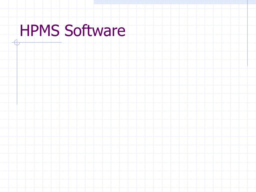 hpms software