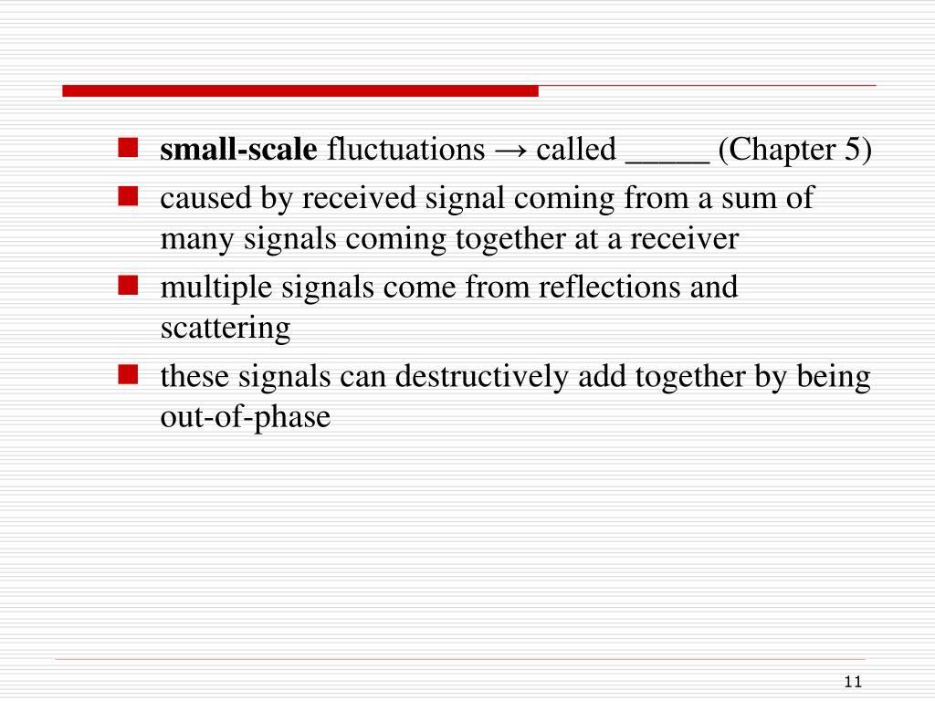 small-scale